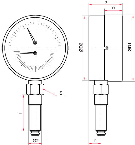 ТМТБ-41Р.2(0-120)(0-0,4МРа)G 1/2.2.5